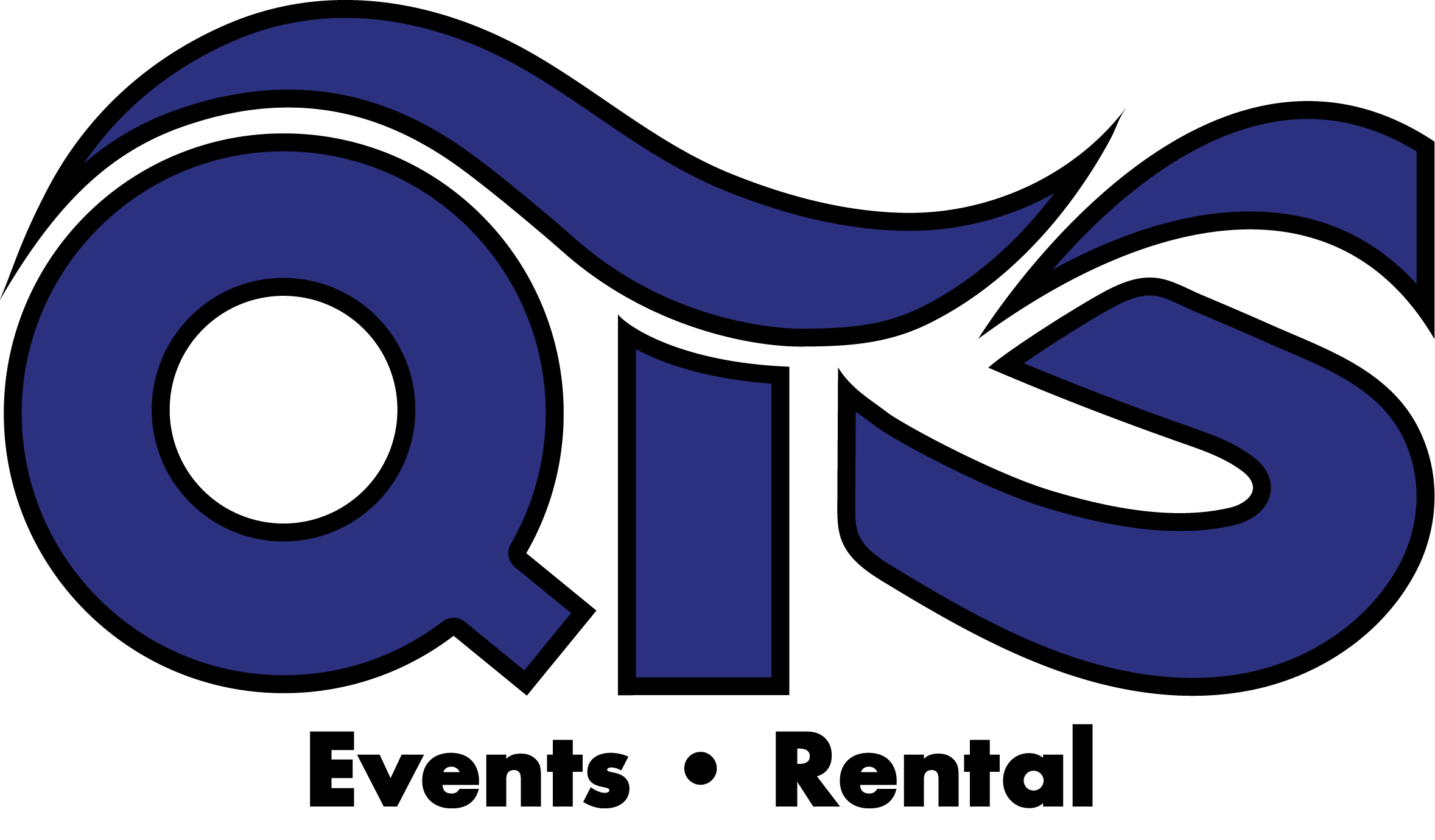 QTS Events logo zwart